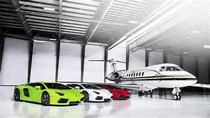 Luxury Private Garage HD Wallpaper