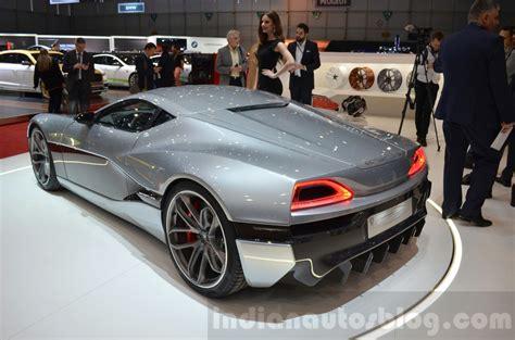 Rimac Conceptone Geneva Motor Show Live