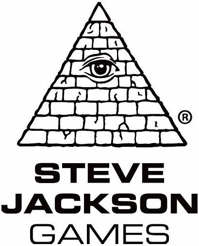 Steve Jackson Games Gaming Logos Card Illuminati