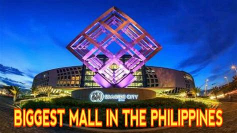 Top 7 Biggest Mall In The Philippines Youtube