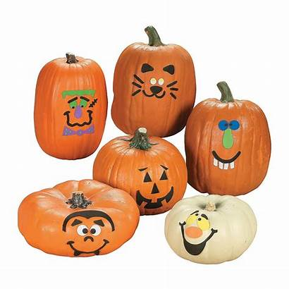 Pumpkin Decorating Craft Kit Pumpkins Halloween Crafts