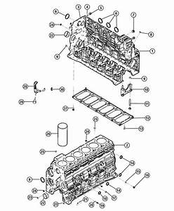 Chrysler Lhs Plug  Core  Cylinder Block  Cylinder Block