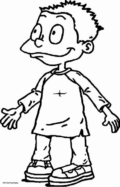 Coloring Pages Rugrats Pickle Tommy Pickles Angelica