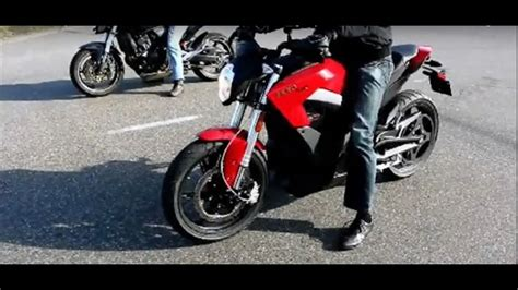 Electric Motorcycle Zero Sr Vs Honda 600 Hornet Vs Suzuki