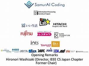 SamurAI Coding 2016-17 World Final, Opening Remarks
