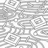 Coloring Rugs sketch template