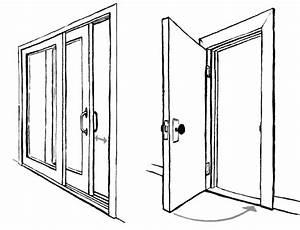 Open Door Drawing Perspective Inspiration Decorating 37992 ...