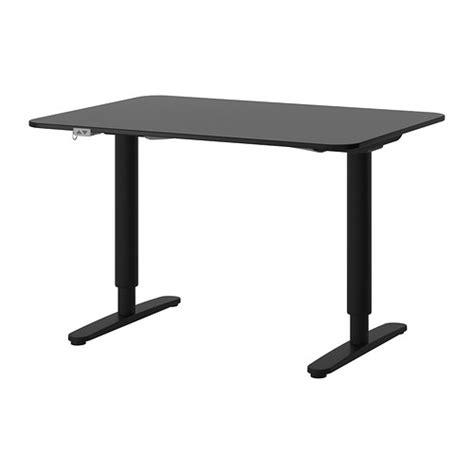 bureau assis debout ikea bekant bureau assis debout brun noir noir ikea