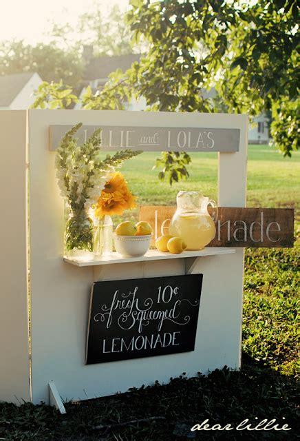 lemonade stand ideas  recipes   cute  tasty