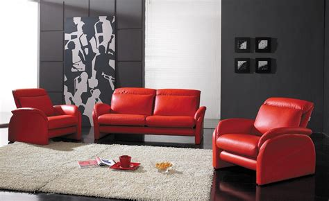 Various Design Of Red Sofa In Living Room Decorating Ideas