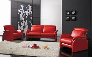 Various Design Of Red Sofa In Living Room Decorating Ideas ...