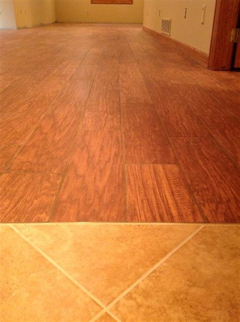 porcelain floor tile simulated wood flooring basement