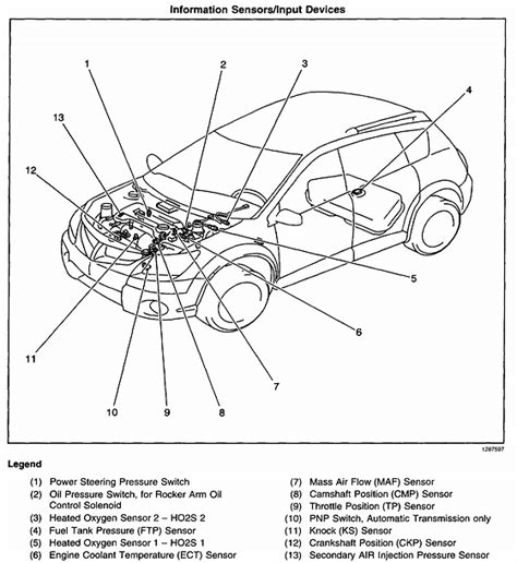 Ac Wiring Diagram For A 2004 Pontiac Vibe by Vibe Engine Diagram Wiring Diagram