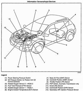 Where Is Camshaft Sensor Located On The 2004 Pontiac Vibe