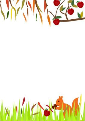 autumn notepaper  early years primary teaching