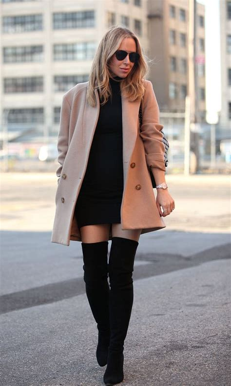 25 amazing over the knee boot outfits - stylishwomenoutfits.com