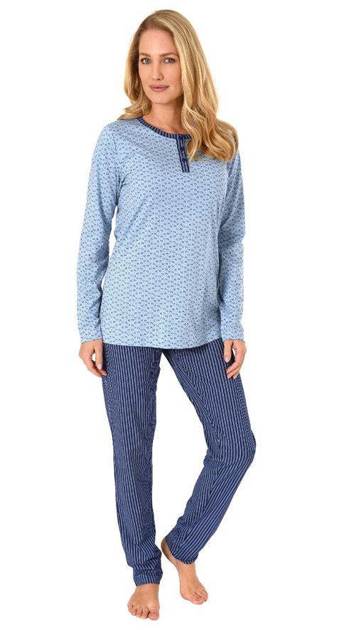 damen pyjama schlafanzug langarm hose  eleganten