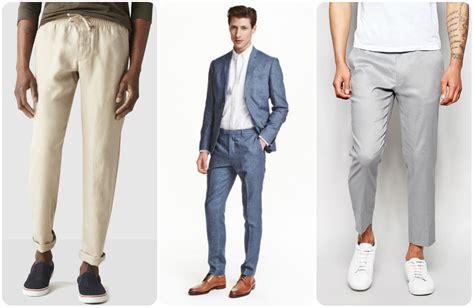 facons de porter  pantalon en lin  mode