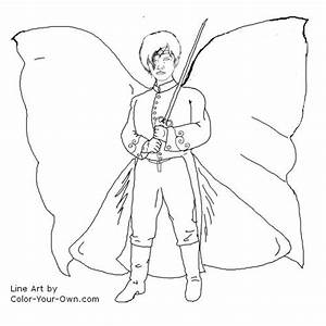 Fairy Prince Coloring Page