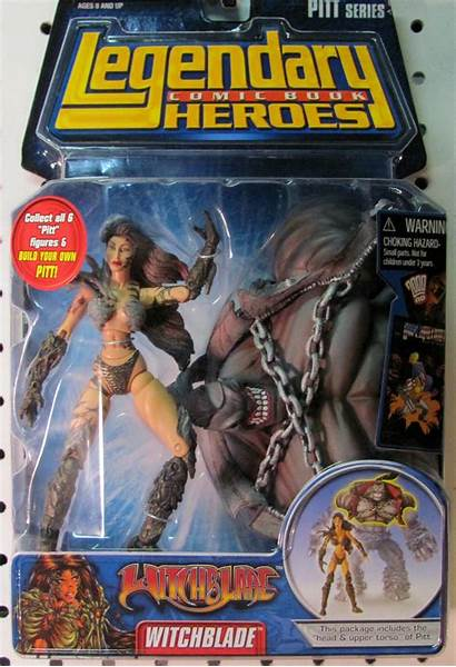 Witchblade Action Figures