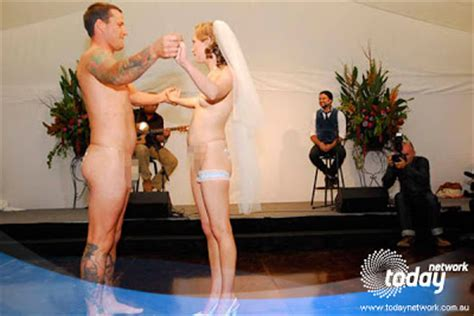 There Is Always A Silver Lining Nude Wedding Ceremony Josh And Matt
