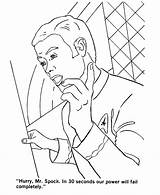 Coloring Pages Trek Star Sheets Enterprise Spock Movie Twins Characters Starship Sulu Mr Activity Captain Adult Status Colouring Reports Getcolorings sketch template