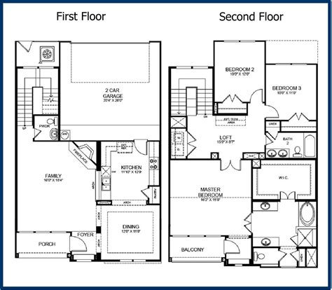2 floor plans the parkway luxury condominiums