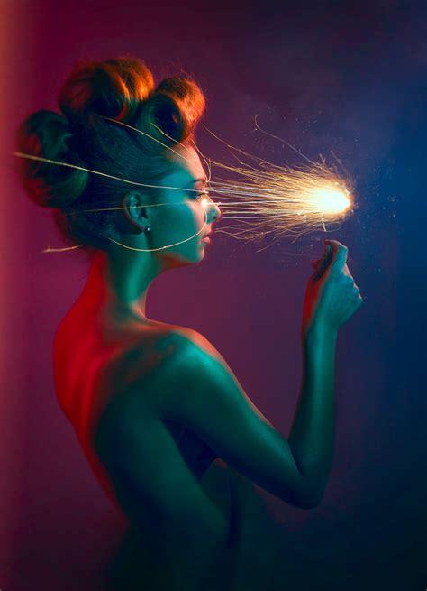 Create a Visual Effects Composite Portrait  Light My Fire