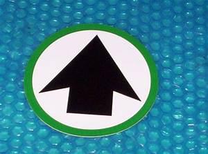 Automatic Door  U0026quot Arrow U0026quot  Label  814