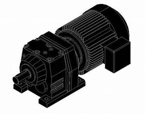 Sew Motor 3d Dwg Model For Autocad  U2013 Designs Cad