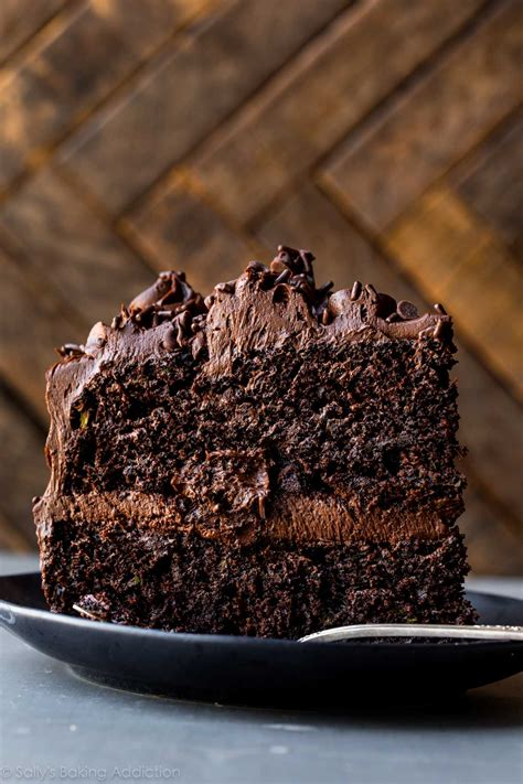 chocolate zucchini cake sallys baking addiction