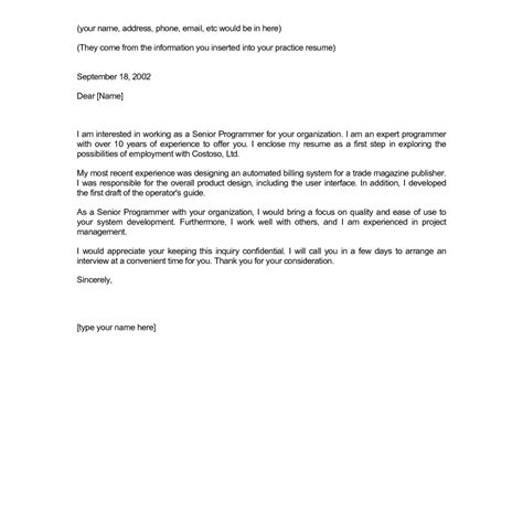 marvelous cover letter word template with