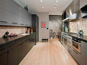 small galley kitchen design pictures ideas from hgtv hgtv With kitchen colors with white cabinets with long narrow horizontal wall art