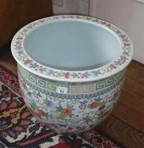 Cache Pot Carreau De Ciment : cache pot en porcelaine de chine moderne ~ Dailycaller-alerts.com Idées de Décoration