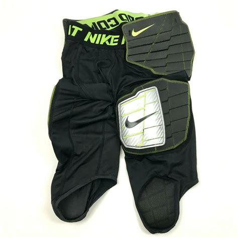 nike combat pro mens padded compression pants black