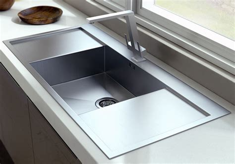 Single Bowl With Double Drain Board Sink manufacturer in Delhi