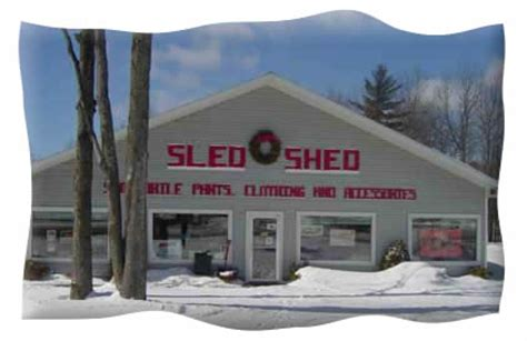 welcome to the sled shed gaylord michigan