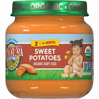 Earth Foods Sweet Infant Babies Potatoes Stage