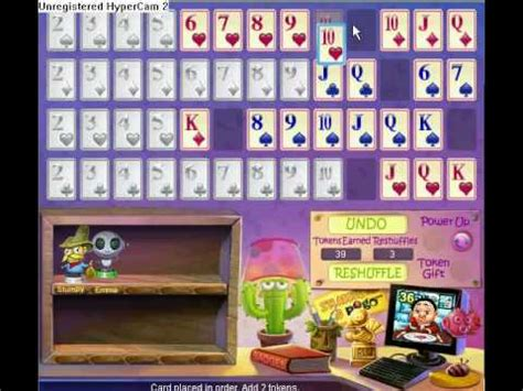 pogo addiction solitaire test  youtube