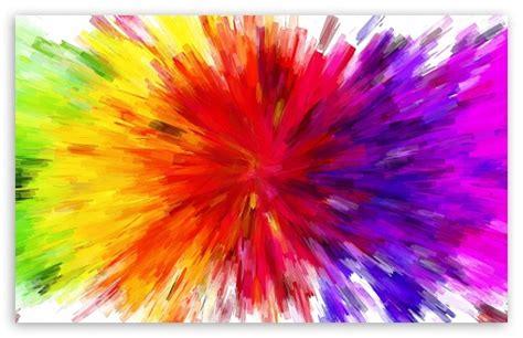 Color Burst Painting 4k Hd Desktop Wallpaper For 4k Ultra