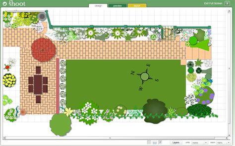 garden planner garden design software  shoot