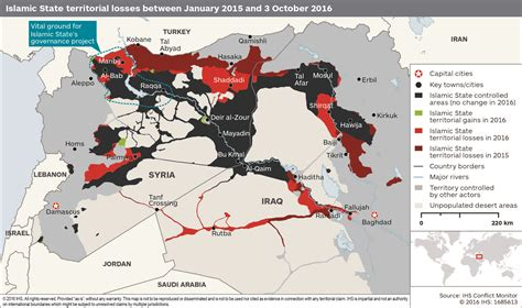 map shows   territory isis  lost