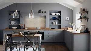 Fairford, Slate, Grey, Kitchen