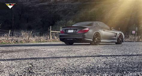 2018 Mercedes Benz Sl 63 Amg With Vorsteiner Wheels Gtspirit