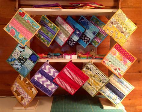 Quilted Potholders  Carolina Anne