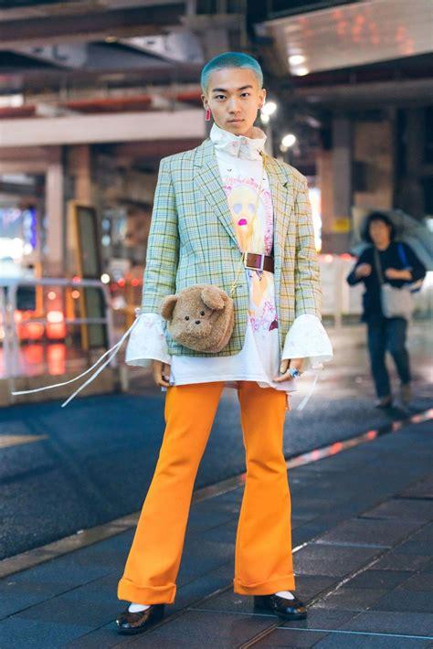 beauty street style  tokyo fashion week