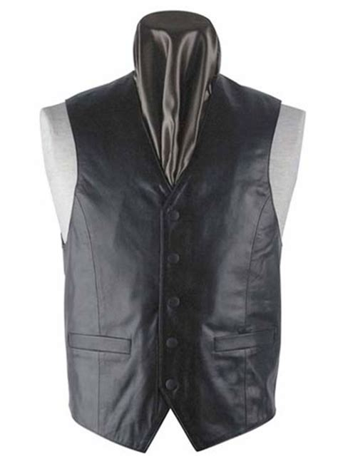 leather vest  makeyourownjeans   measure