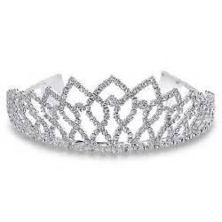 35 year wedding anniversary royal crown rhinestone princess silver tiara