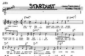 Stardust sheet music by Hoagy Carmichael (Real Book