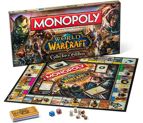 monopoly world  warcraft collectors edition